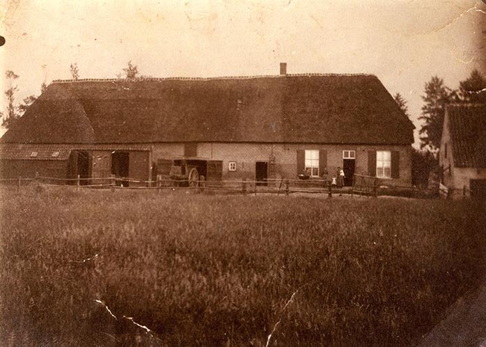 de Kartuizerhoeve omstreeks 1911